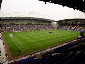 The JJB Stadium - Home of The Latics.