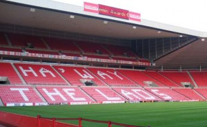 Sunderland's Stadium of Light.
