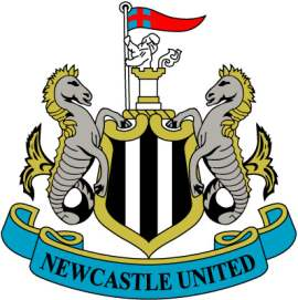The Newcastle United crest.
