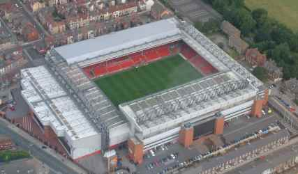 This is Anfield! It's also a dump!