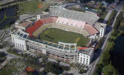 The venue for the game tonight