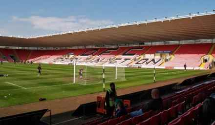 The Northern Echo Arena - Home of Darlington FC.