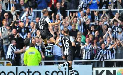One of his 4 goals against West Brom.