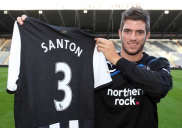 Santon starts for the ressies!