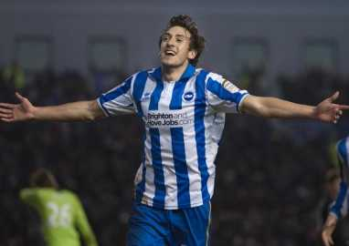 Buckley does the damage for Brighton