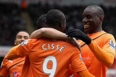 Papiss does the damage against Swansea
