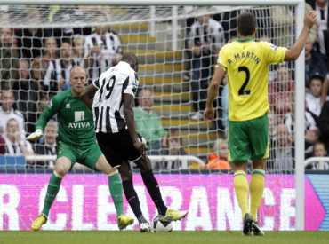 Demba delivers the goods