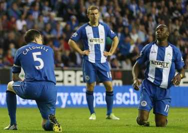 Wigan miss chance to overtake United