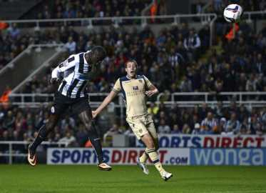 Cisse finally finds the net