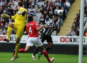 Shola opens the scoring