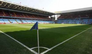 Game on at Villa Park