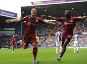 Gouffran opens the scoring at The Hawthorns