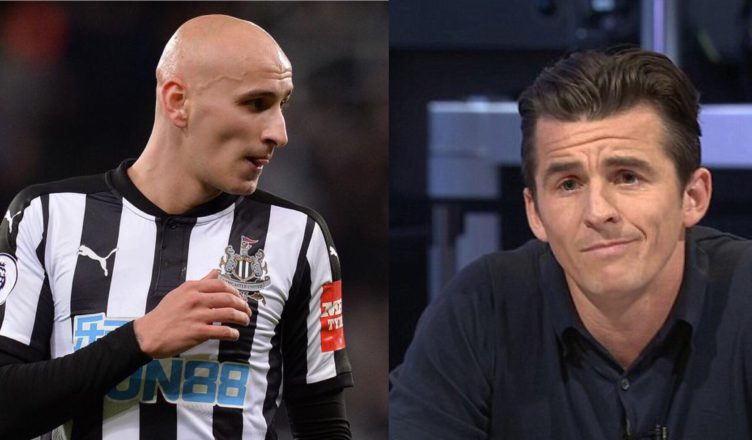 Joey Barton names the NUFC star Arsenal should be looking